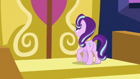 Starlight Glimmer calling out to Twilight S6E25