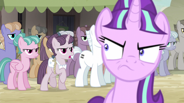 """File:Sugar Belle """"either we're all equal or none of us are!"""" S5E2.png"""