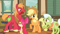 The Apples arguing S4E09