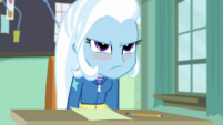Trixie sits back down with an angry blush EGDS10