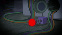 Twilight Sparkle's module glowing red SS5