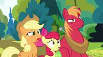 Apple siblings in complete disbelief S7E13
