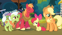 Applejack '...fallin' apart like this' S4E09