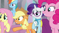 "Applejack nervous ""in classrooms?"" S8E1"