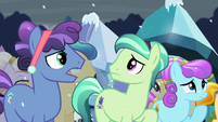 Crystal Ponies complaining S6E2