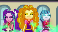 Dazzlings absorbing students' negativity EG2