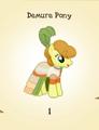 Demure Pony MLP Gameloft.png