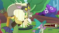 Discord surprised by Spike's words S8E10