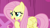 Fluttershy --You'll make me blush-- S5E22
