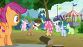 Foals marveling at Thunderlane again S7E21.png