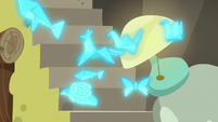 Folded napkins fly around Discord's house S7E12