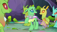 "Green Changeling ""I feel like I'd be living a lie"" S7E17"