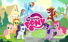MLP mobile game Dragon Quest update loading screen