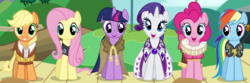 Mane Six as founders of Equestria ID S2E11