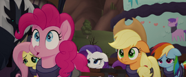 Pinkie Pie making a realization MLPTM