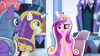 "Princess Cadance ""do you have Flurry Heart?"" S9E1"