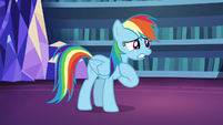 "Rainbow Dash ""if I told her I didn't like them"" S7E23"
