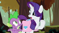 "Rarity ""can't imagine why you set him free"" S8E11"