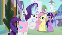 "Rarity ""don't like being interrupted"" S9E24"