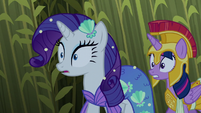 Rarity and Twilight hear a strange sound S5E21