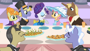 Rarity at a feast S2E9