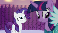 Rarity eye roll S5E14