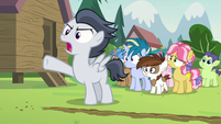 "Rumble ""being pressured to get a cutie mark!"" S7E21"