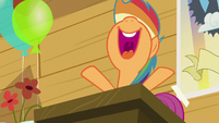"Scootaloo ""yay, she's amazing"" S8E20"