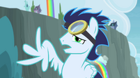 Soarin with broken wing S4E10