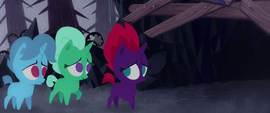 Spring Rain and Glitter Drops afraid of the cave MLPTM