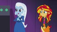 Trixie notices Celestia and Luna EG2
