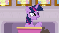 "Twilight ""who better to model the importance"" S8E9"