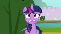 Twilight Sparkle in deep worry S9E4