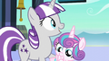 "Twilight Velvet ""or are we gonna spend our entire visit just calling her ""the baby""?"" S6E2.png"
