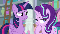 Twilight and Starlight thinking S8E25
