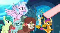 Young Six accused by Cozy Glow S8E26