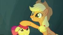 "Applejack ""Rockhoof was a tiny little fella"" S7E16"