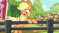 """Applejack """"this gate here used to squeak"""" S6E10.png"""
