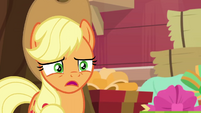 Applejack upset that she didn't win BGES1