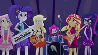 Equestria Girls nervous in the dark EGSB