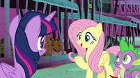Fluttershy -get the other monsters to help- S8E26