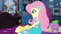 Fluttershy reaching into her backpack EGDS7.png