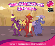 MLP mobile game Dragon Quest update Facebook