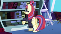 Moon Dancer perusing Twilight's books S5E12.png