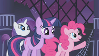Pinkie Pie counting the Elements S1E02