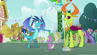 "Princess Ember ""my friend Thorax said"" S7E15"