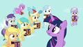 Rainbow Dash's fan club of fillies appears S7E14.png