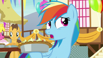 "Rainbow Dash ""do I want to take a big bite"" S7E23"