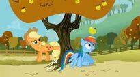 Rainbow Dash sorprendida