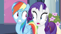 Rarity & Rainbow Dash shocked! S2E25.png